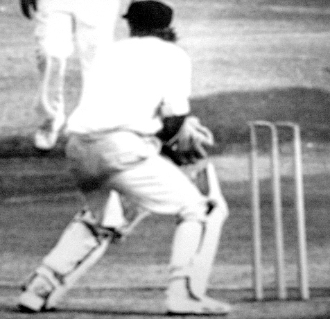 Des keeping wicket for Rhodesia