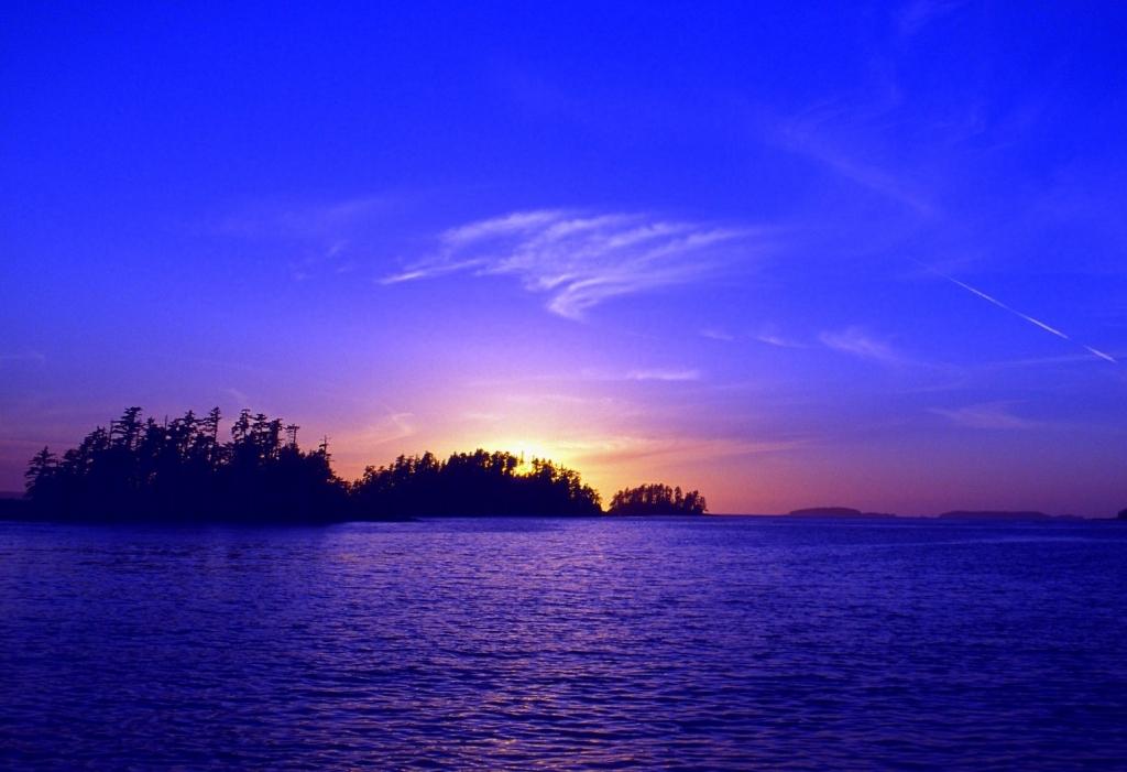 A sunset at Kariba