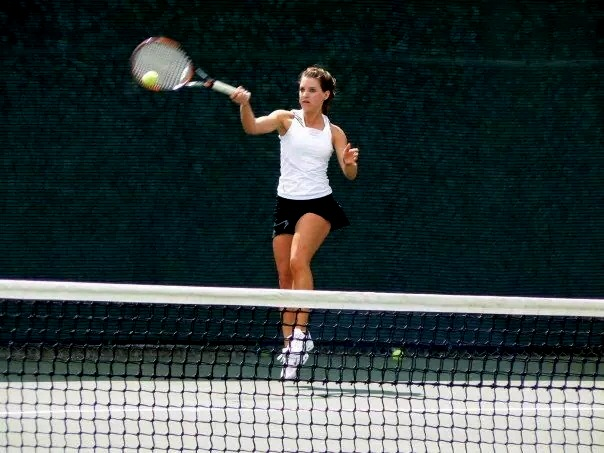My daughter Nicola (Evans) Frazer played 4 years college tennis for the IUPUI Jaguars