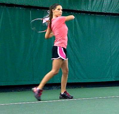 Stacey Evans won a State tennis title with Carmel High School in 2003 and reached the State doubles final in 2006