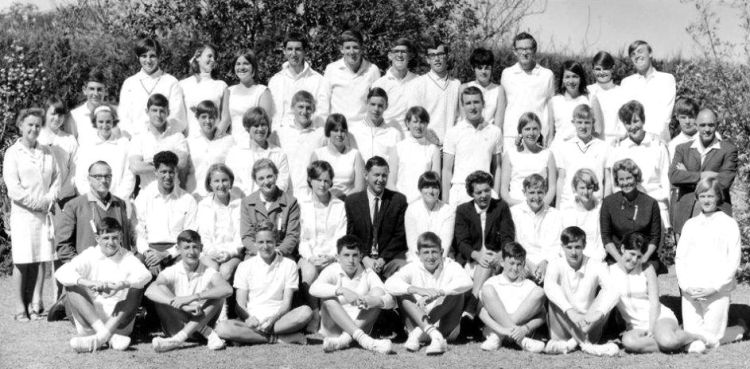 Brooks Trophy tennis players in 1968