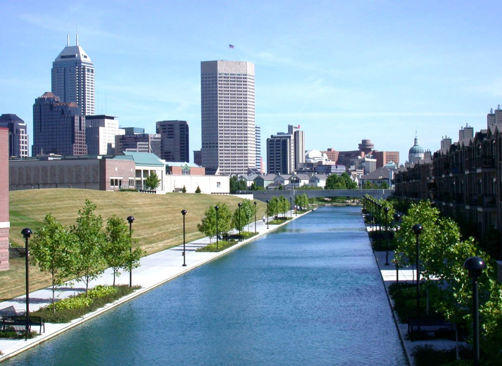 The canal - downtown Indianapolis